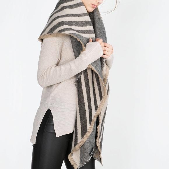 ... Striped Blanket Scarf. M 5a5143d872ea882ffa022a16 4689bf244